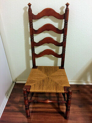 Antique Wooden Chair Gorgeous (Local Pickup Only)