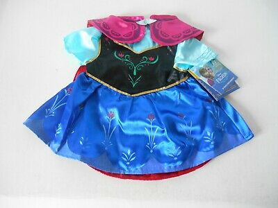 NWT NEW WITH TAGS BUILD-A-BEAR DISNEY FROZEN PRINCESS ANNA COSTUME TEDDY OUTFIT