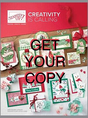 STAMPIN' UP 2018-2019 Annual Catalog + 2018 Holiday Catalog+