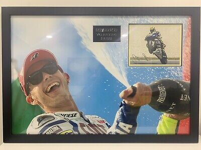 Valentino Rossi - signed photograph 38.5 x 26.5 Inches, authenticity certificate