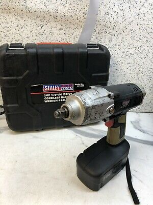 """Sealey CP2450 24V Impact Wrench 1/2"""" Drive 410b.ft 550Nm NO CHARGER"""