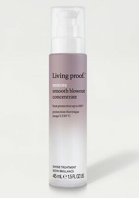 Living Proof Restore Smooth Blowout Concentrate Shine Treatment - 1.5 oz/ 45 ml