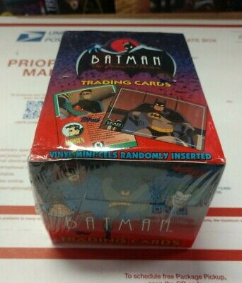 Sealed box Batman the animated series 1993 trading cards box packs