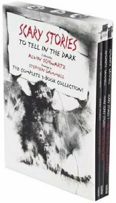 Scary Stories Paperback Box Set The Complete 3-Book Collection ... 9780062682895