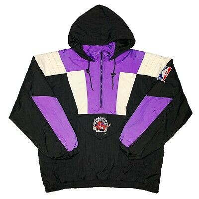 Vtg Rare NBA World Champions Toronto Raptors Starter Jacket. Mens XL