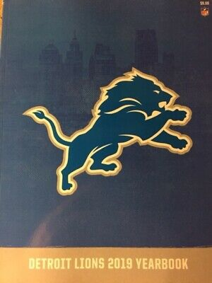 2019 Detroit Lions Yearbook Program 2020 Super Bowl 54 ? Nfl Matthew Stafford