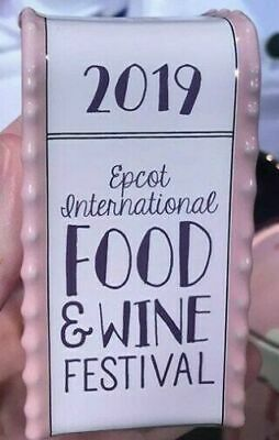 Disney Epcot Food & Wine Festival 2019 Chef Mickey Salt Pepper Trash Can Shaker