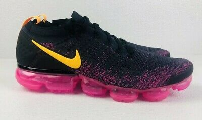Nike Air Vapormax Flyknit 2 Laser Orange/Pink Blast Shoes 942842-008 Men's 12.5