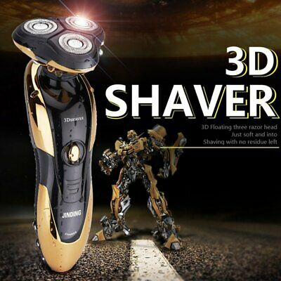 Top Men's Rotary Electric Rechargeable Cordless Shaver Razor Trimmer 【AU】