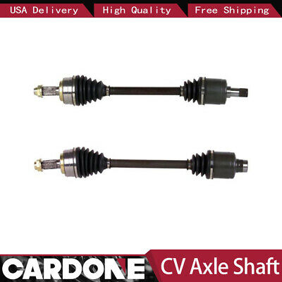 Front Left+Right Set of 2 Cv Axle Shaft SurTrack For 90-93 Acura Integra UU27