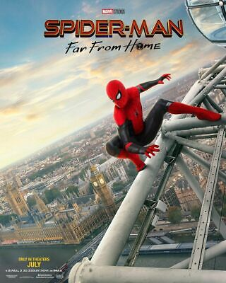 Spiderman Far From Home Marvel Movie Art Silk Poster 12x18 24x36