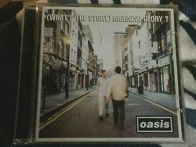 Whats The Story Morning Glory by Oasis CD  -  1995  Sony Music