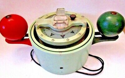 LARGE - SPERRY Marine BINNACLE Compass - Very Accurate - Made in USA (531)