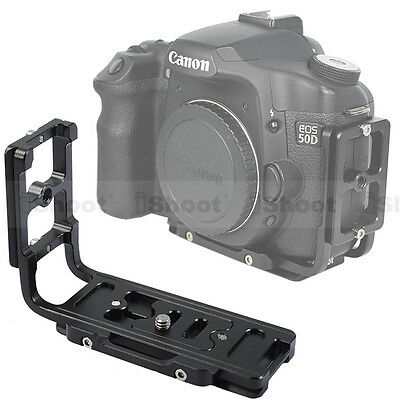 Vertical Shoot Quick Release Plate/Camera Holder Grip for Canon EOS 40D/30D/20D