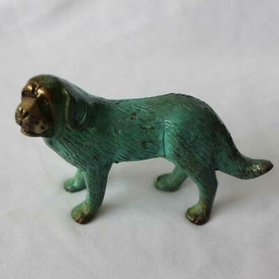 Hund*Messing*Tier Figur*NEU*animal*brass*Bronze Skulptur*Deko*Statue*Patina