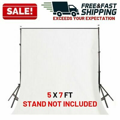 Photography Backdrop Kit Adjustable Background Support Stand Non Woven Fabric