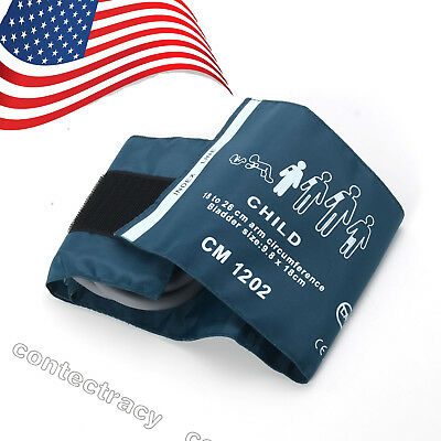 USPS ship NIBP cuff ,Child,Reusable,Single Tube,Size 18-26cm for patient monitor