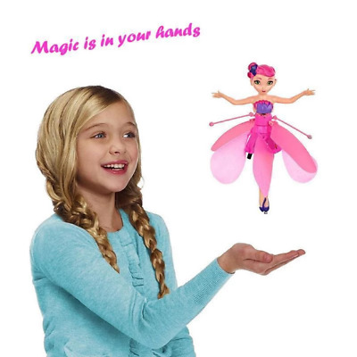 Flying Fairy Magical Princess Toy - Mini RC drone Girl Children's Gift