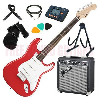 FENDER Squier Bullet Stratocaster HT TOTAL KIT AMPLIFICATORE + ACCESSORI
