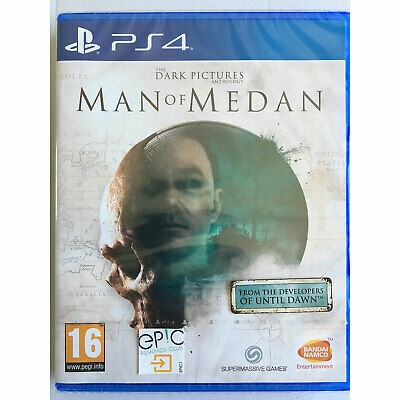 The Dark Pictures Anthology Man of Medan PS4 New and Sealed IN STOCK