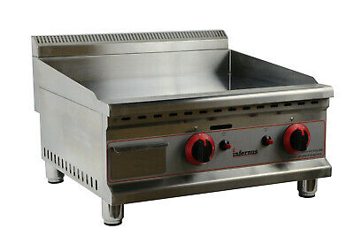 New Gas Griddle Counter Top Gas Griddle Grill Cooker 600mm /60cm