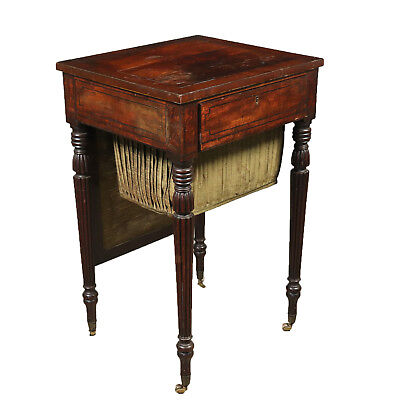 Elegant Coffee Table with Secret Drawers England 19th Century