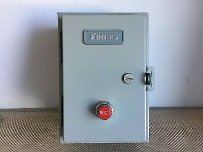 Furnas 14Ep320A Magnetic Starter Enclosure Only Size 1-3/4 Nema 12