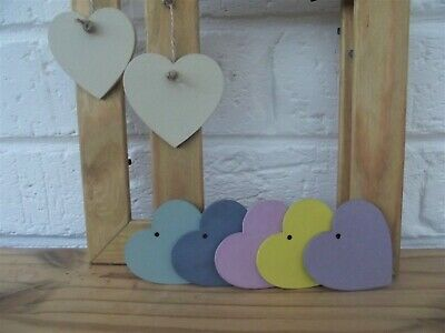 Picture Frame/Photo Frame/Oak Finish/Choice coloured Heart/Pine Frame/Solid Wood