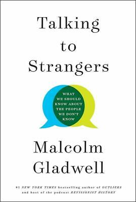 Talking to Strangers By Malcolm Gladwell Brown Sociology Hardcover
