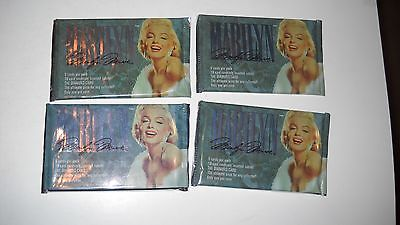 Marilyn Monroe trading Cards -2 packs- A1