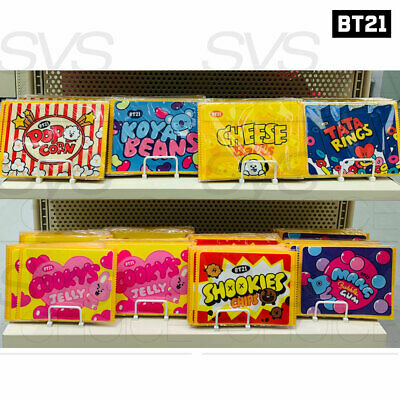 BTS BT21 Official Authentic Goods Mouse Pad Snack Ver 220x170mm By LINE FRIENDS