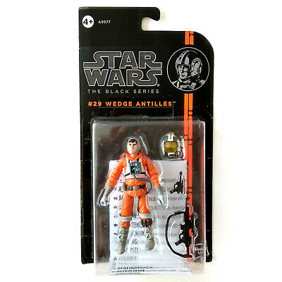 Star Wars Black Series #29, 3.75 Inches - Wedge Antilles, Mosc