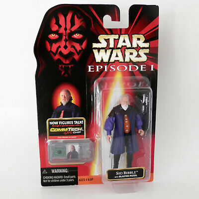 Star Wars Episode I: Sio Bibble (1999) - 3.75 Inches - Hasbro, Mosc