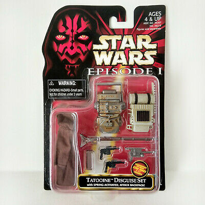 Star Wars Episode I: Tatooine Disguise Set (1999) - Hasbro, Mosc