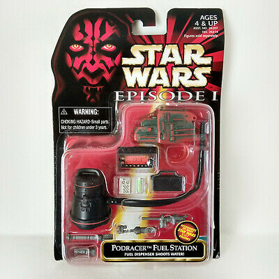 Star Wars Episode I: Podracer Fuel Station (1999) - Hasbro, Mosc
