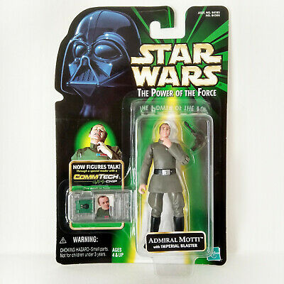 Star Wars Episode I: Admiral Motti With Imperial Blaster (1999) - Hasbro, Mosc