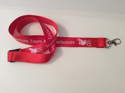 Liverpool Fc Official Stadium Tour Lanyard With Metal Clip - Ynwa 6 X Winners