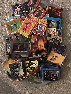 Large Job lot Of 100's Of Film And TV Trading Cards And Stickers. No Doubles