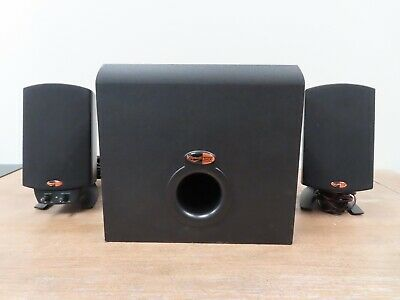 Klipsch ProMedia 2.1 Channel Computer Speaker - Black