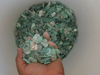 rough stabilized campitos turquoise flatts  (by the pound)