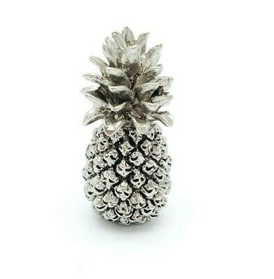 Miniature Brass Pineapple Figurine 1.25""