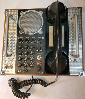 Spirit Of St Louis 10 Memory Hands Free Speaker Telephone Aviation Style Vintage