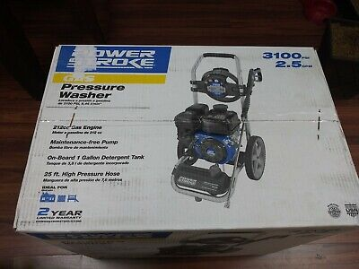 POWERSTROKE 3100 PSI Gas Pressure Washer With Electric Start