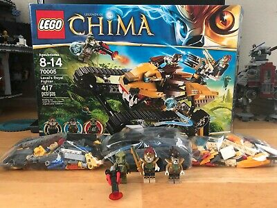 LEGO Chima LAVAL/'S ROYAL FIGHTER Replacement STICKER SHEET for Set #70005  NEW