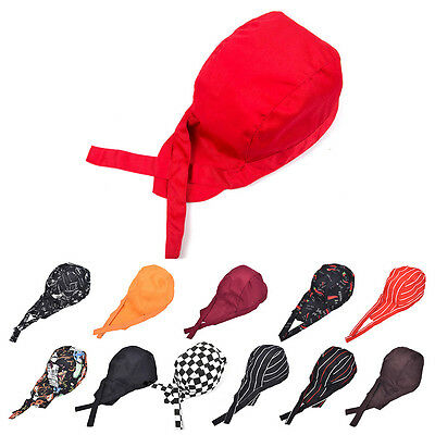 Colourful Pirates Chef Cap Skull Cap Professional Catering Various Chef Hat cl