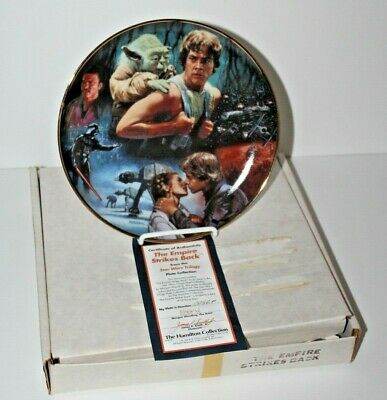The Hamilton Collection Star Wars Collectors Plate The Empire Strikes Back #13