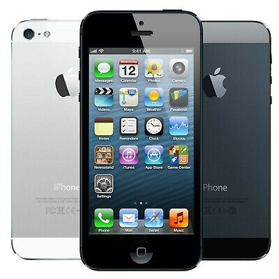Apple iPhone 5 16GB 32GB 64GB Black White Smartphone AT&T  - A1428 - Tested