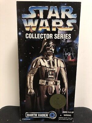 "1996 Kenner Star Wars Collector Series 12"" Inch DARTH VADER Figure NIB"
