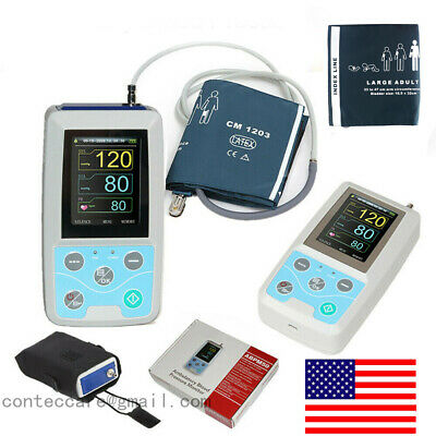 24 hours Ambulatory Blood Pressure Monitor Holter ABPM Holter BP Monitor,USB,USA