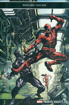 Marvel Knights 20th #5 Panther Daredevil Stan Lee Tribute Variant A NM/M 2019